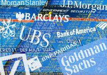 11147445-illustration-of-trader-screens-logos-and-lettering-of-big-banks-stock-photo